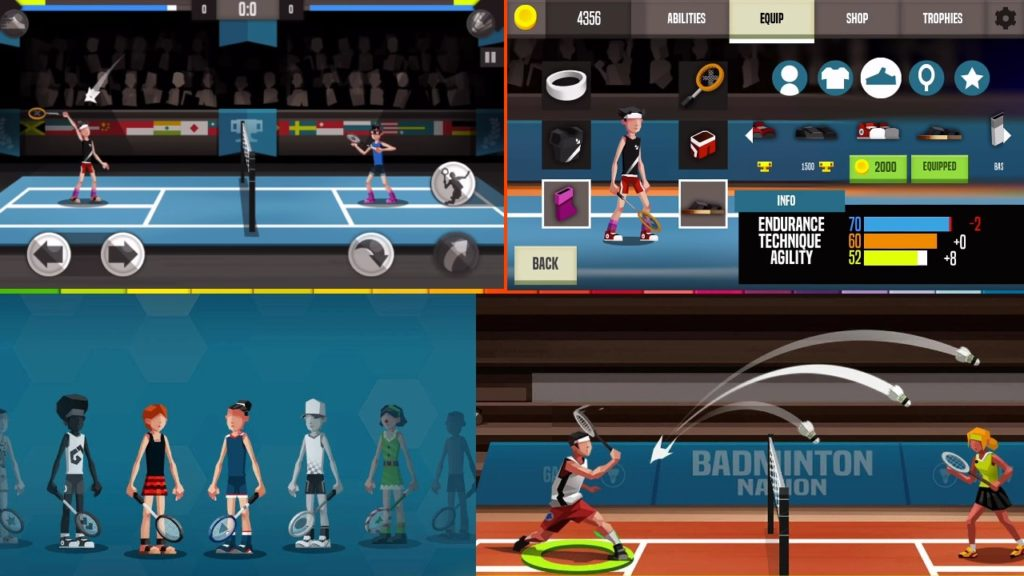 this is badminton league mod apk