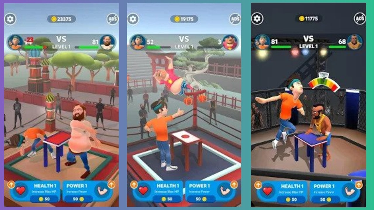 this is slap king mod apk image